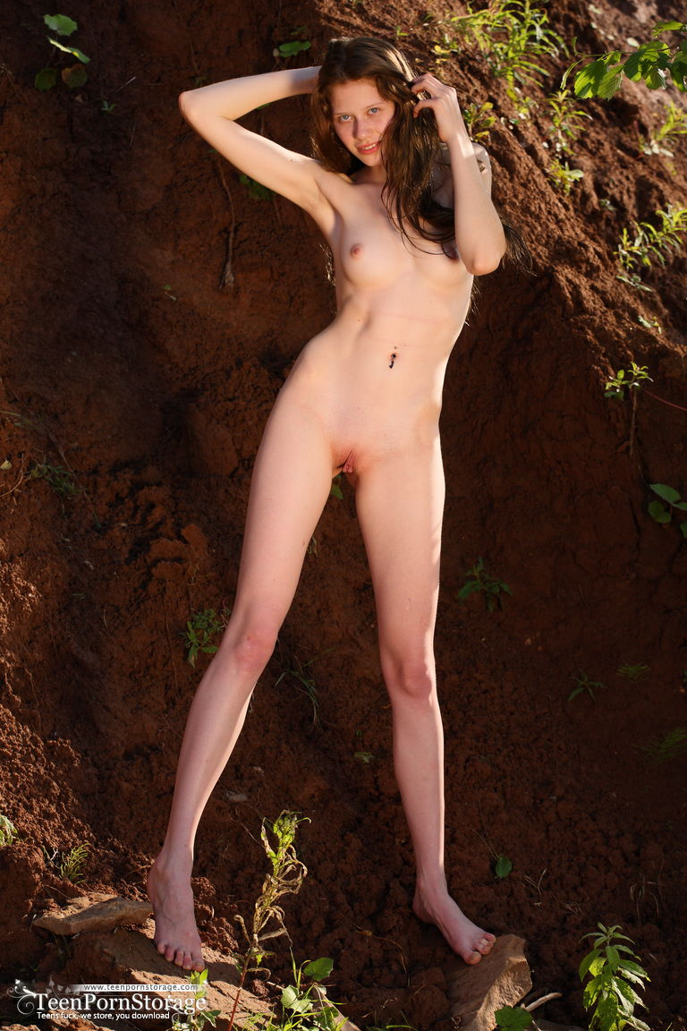 Private hidden nudist